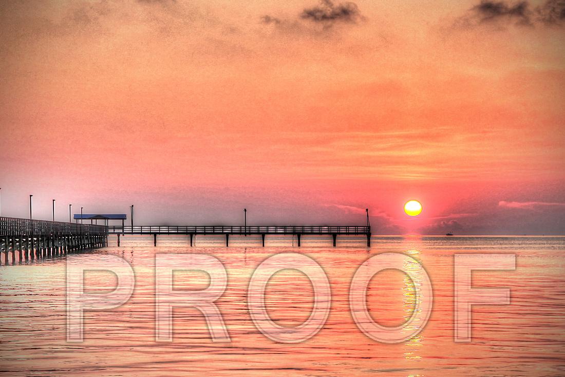 """Fulton Pier Sunrise"""