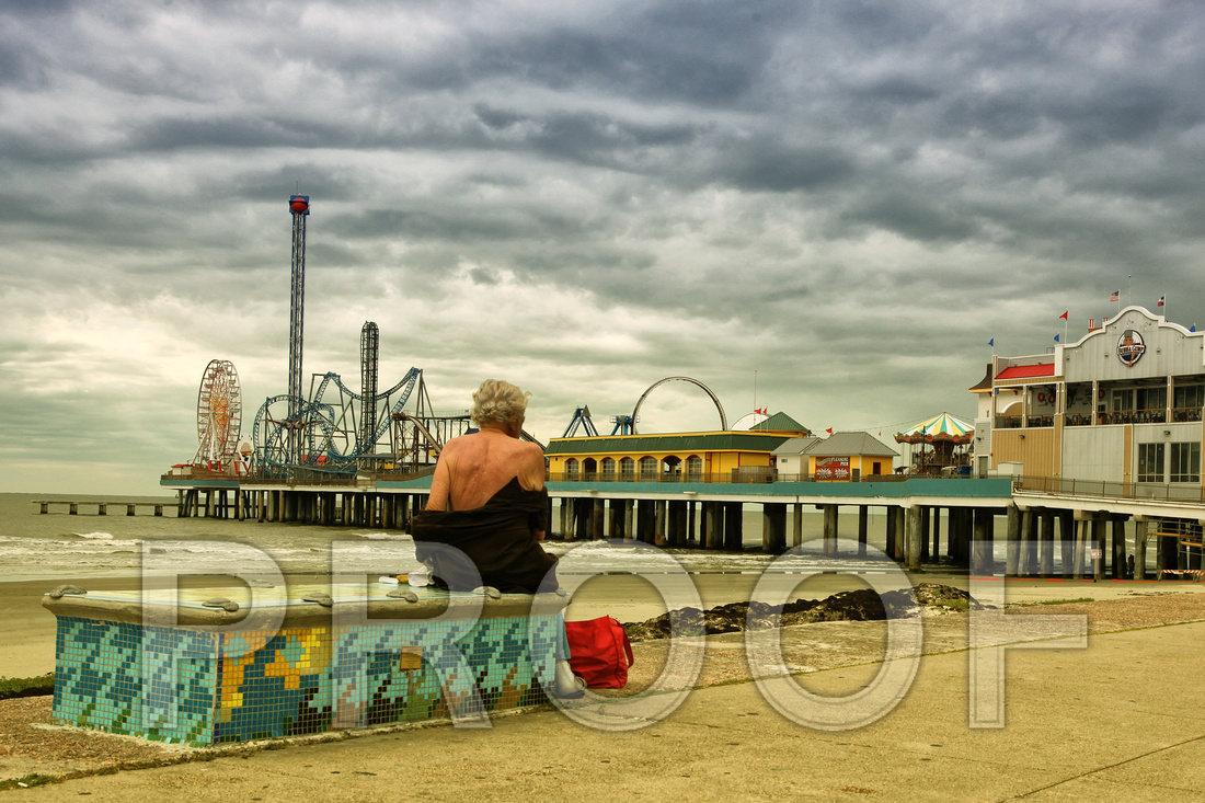"""The Homeless Man and The Pleasure Pier #2"""