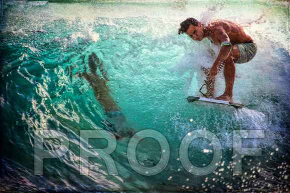 """Boogie Boarder at Sandy Beach #1"""