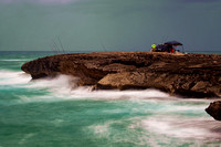 """Laie Point Fisherman"""