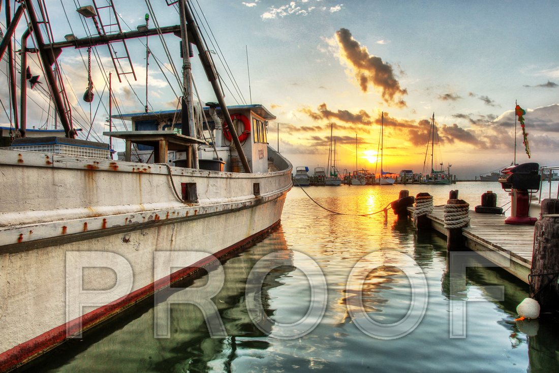 """Fulton Harbor Sunrise"""