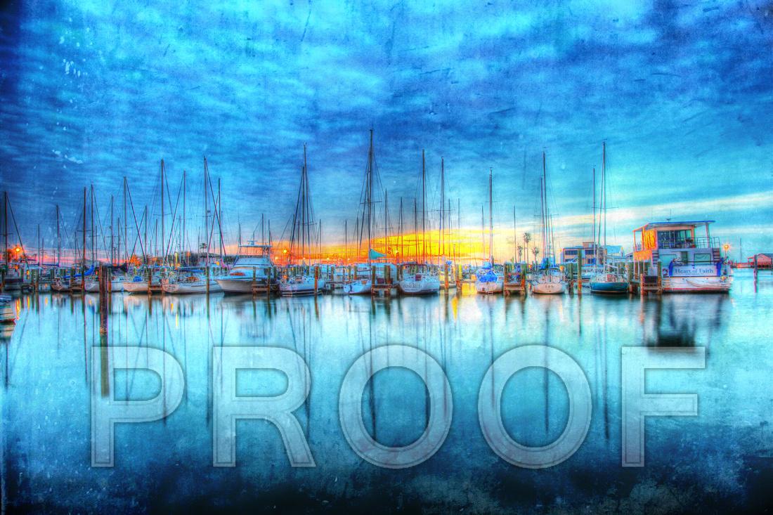 """Rockport Harbor Sunrise"""